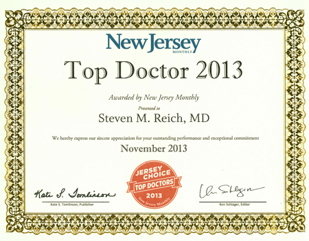 2013 Top Doctor - Reich